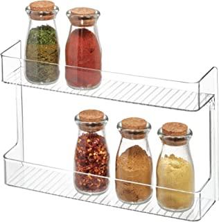 InterDesign 厨房橱柜储物收纳盒,铝箔袋,多种风格 透明 65930
