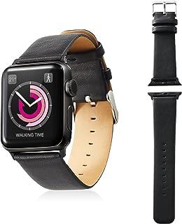Apple Watch 38mm/软皮带/平滑风格/黑色AW-38BDLFSBK  38mm 黑色
