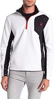 Spyder 男式 Raider 1/4 拉链毛衣,颜色变化