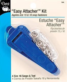 "Dritz Snap Fastener Attacher Kit - ""Easy Attacher"" 蓝色 1包 16K"