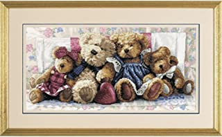 Dimensions Needlecrafts Counted Cross Stitch, A Row Of Love