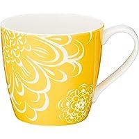 NARUMI 鸣海 Day+系列 马克杯 黄色 340cc(约340ml) 41281-2889 适用于微波炉、洗碗机