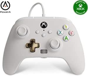 改进的有线PowerA控制器 - Mist Gamepad,有线视频游戏控制器,游戏控制器,Xbox Series X S