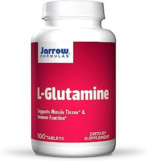 Jarrow Formulations Jarrow L-谷氨酰胺片 支持肌肉组织和相关功能,1000毫克,100粒