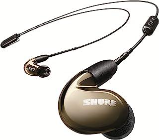 Shure 舒尔 SE846 无线耳机带蓝牙 5.0,隔音,青铜 (SE846-BNZ+BT2-EFS)
