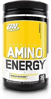 Optimum Nutrition 欧普特蒙 必需氨基酸能量,菠萝口味,锻炼前必需氨基酸补充,含绿茶和生咖啡提取物,30份
