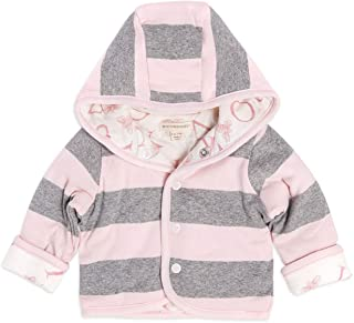 Burt's Bees baby 婴儿有机前按扣两面穿夹克