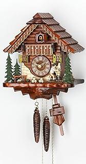 Cuckoo 时钟 黑色森林房子 带动木切碎机 KA 1679