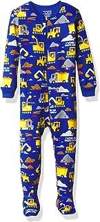 The Children's Place 男孩婴儿和幼儿结构舒适棉质连体睡衣