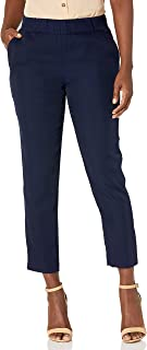 Briggs New York 女式Pantformance Journey 绉纱套头衫,带后过肩细节