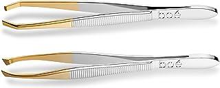 Boé Perel Precision Tip 眉毛镊子 - 专业瑞士*工具