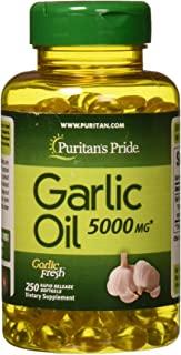 Puritan's Pride 普丽普莱 大蒜油,5000mg,250粒