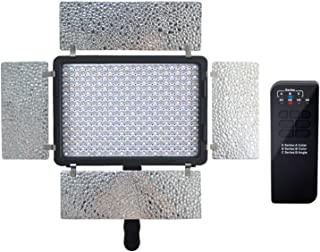Mcoplus LED-420B 双色 3500 LM 3200-7500 K 温度视频 LED 灯 - 黑色