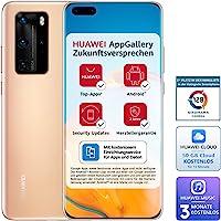 Huawei 华为 P40 Pro 智能手机,256GB 内存,8GB RAM,腮红金