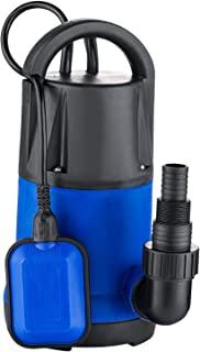 Homdox 1.0HP 不锈钢潜水泵,水池泵清洁/脏水泵,适用于游泳池排水