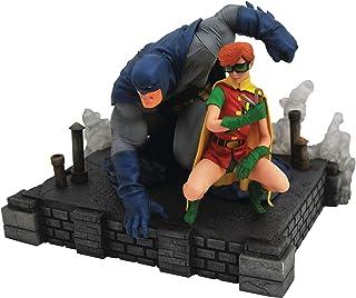 DIAMOND SELECT 玩具 DC 画廊:黑暗骑士回归蝙蝠侠和罗宾豪华 PVC 模型立体模型,多色