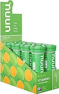 Nuun 维生素:维生素+电解质饮料片,柑橘青柠,8 管(96 份)