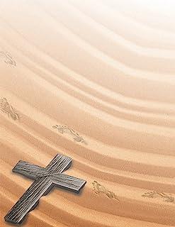 优质纸张! Nativity Holiday Letterhead,21.59 cm x 27.94 cm,25 张,象牙色 (2018035) Crossing 80 Sheets