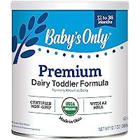 Baby's Only Organic 婴儿乳制品奶粉-Non GMO,美国农业部,清洁标签项目认证,12.7盎司,36…