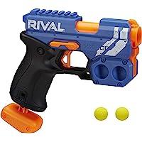 NERF 热火 Rival Knockout XX-100 玩具枪 -- 圆形子弹存储,90 FPS 速度,后膛枪…