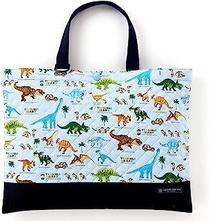 课程包(绗缝)绘本袋 手提 浴室包 发现! 探险! 恐龙大陆(浅蓝色) N0234200