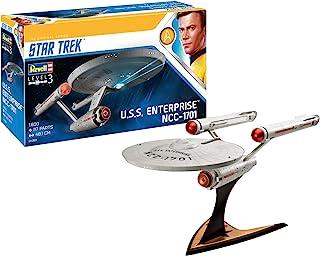 Revell 模型套装 星际迷航 - U.S.S. Enterprise NCC-1701 比例 1:500,星际迷航 Into Darkness,*4级,忠于原版,细节精美,04882 Erwachsener TOS 1/600 1:600 ...