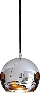 SLV Light Eye吊灯,铬色,GU10, 峰值为75W,包括 3P 适配器,钢,银色