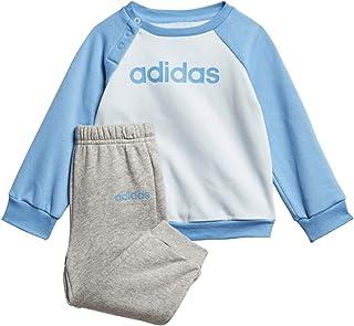 adidas 阿迪达斯男女宝宝通用 I Linear Jogg Fl 连衣裙