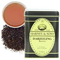 Harney & Sons 散叶红茶, 大吉岭茶, 8 盎司(约226.80克)罐装