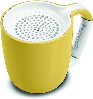 GEAR4espresso 小号咖啡杯风格蓝牙音箱, carabineer 手柄夹 (淡粉色)