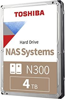 Toshiba 東芝 N300 4TB NAS 3.5英寸 內置硬盤- SATA 6 Gb/s 7200 RPM 128MB (HDWQ140XZSTA)