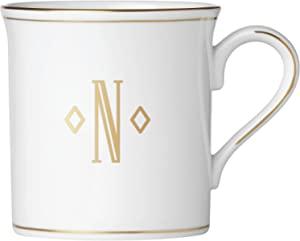 Lenox 联邦金块交织字母餐具 字母 N 874367