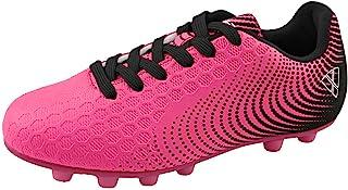 Vizari Stealth FG Black/White Size 10 Soccer-Shoes