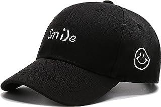 YCMI 微笑男孩女孩儿童帽可调节棉质棒球帽卡车司机帽