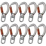 Fusion Climb Liberty Aluminum Swivel Triple Lock True Captiv…