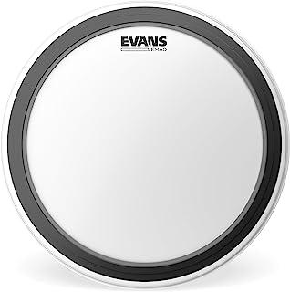 Evans EMAD 涂层白低音鼓头,24 英寸