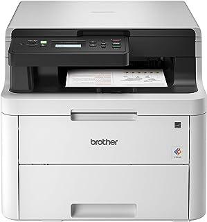 Brother 兄弟 HL-L3290CDW 紧凑型数字彩色打印机,可提供激光打印机质量的成品,并提供方便的平板复印和扫描,无线双面打印,支持亚马逊Dash补货