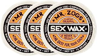 SEXWAX 萨芬 用 经典 橙色标签 COOL 3个装 椰子