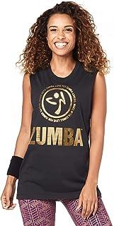 Zumba 女式中性款健身背心时尚印花