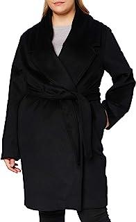 Mexx 女式优雅腰带羊毛大衣
