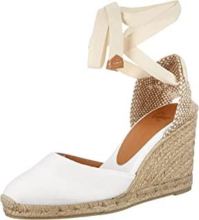 Castañer 女士 Carina / 8/001 帆布鞋