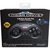Retro-Bit Official SEGA Mega Drive 8-Button 2.4Ghz Wireless…
