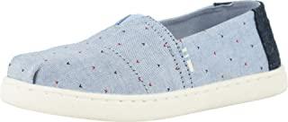 TOMS 男童Alpargata 帆布鞋