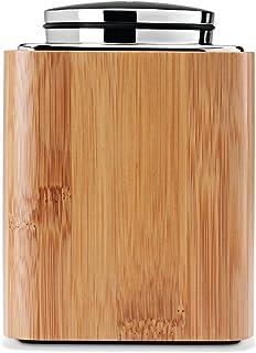 simplehuman 竹方形棉签支架