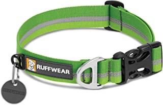 RUFFWEAR - 疯狗项圈,柔软、耐用、反光织带 Meadow Green 20-26