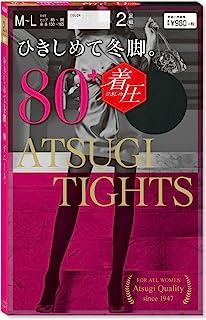 [assugi] 裤袜 Atsugi Tights (厚木连裤袜) 压力袜 80丹尼尔 〈2双装〉 女士 FP98842P