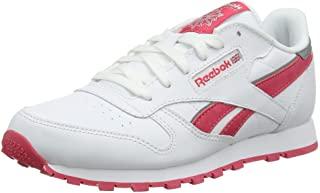 Reebok 男童经典 Leather 跑鞋
