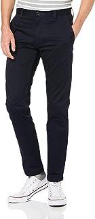 G-Star RAW 男式 Bronson 修身斜纹棉布长裤