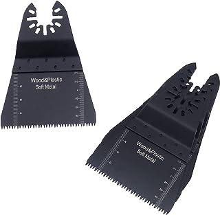 SING F LTD 5 件/10 件长牙高碳钢振荡锯片兼容多工具FEIN MultiMaster