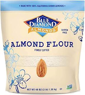 Blue Diamond 杏仁粉 精选杏仁 无麸质 美白,3磅(2.36kg)*1袋